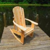 """BIG BOY"" ADIRONDACK ROCKER"
