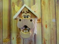 Click to enlarge image <B>HORSE FACE BIRDHOUSE</B> - <B>RUSTIC COUNTRY CHARACTER</B>