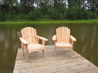 "Click to enlarge image <B>GARDEN CHAIR 20"" SEAT WIDTH</B> - <B>THIS CHAIR IS VERY EASY TO GET IN AND OUT OF</B>"